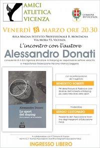 Locandina evento 'serata con Alessandro Donatie Benedetto Roberto'